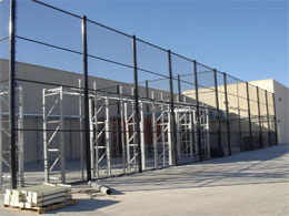 Chain Link Fences for Businesses, Companies or Schools