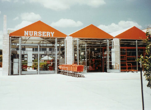 chain link fence home depot nursery
