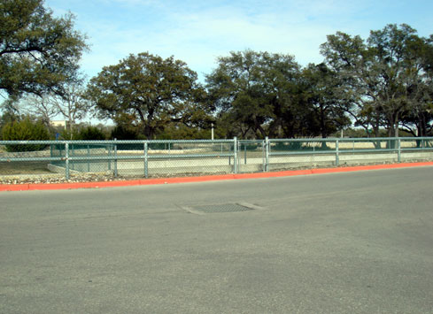 parking lot guardrail