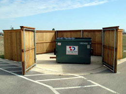 Wood Privacy Fences for Businesses, Companies and Schools