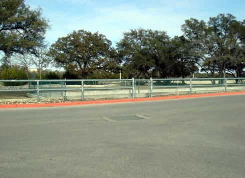 parking lot guardrail