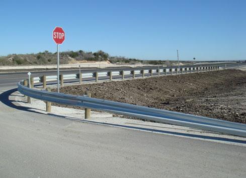 txdot guardrail project